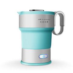 旅行折叠水壶电热水壶商务旅游必备便携式热水壶【粉色/绿灰色 可选】图片