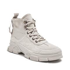 LANMARH户外运动 女士徒步鞋 2019年 冬季 新款 女士马丁靴 时尚 休闲 短靴 低跟 工装靴女FYD9850-6图片