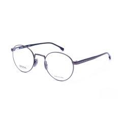 19新品HUGO BOSS/雨果博斯近视镜架男士全框复古圆形圆框眼镜框架1047图片