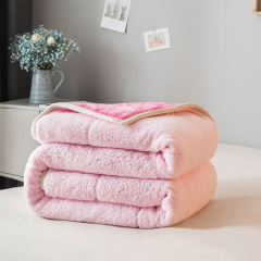 ROYALROSE LITERIE 秋冬加厚保暖复合盖毯 毯子绒毯 休闲盖毯图片