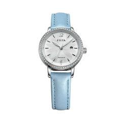 FIYTA/飞亚达 手表防水自动机械表女表时尚皮带女士手表腕表花语系列图片