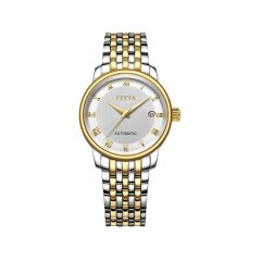 FIYTA/飞亚达 男表男士手表商务机械表全自动防水精钢带日历腕表图片