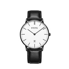FIYTA/飞亚达 手表男one系列皮带石英表男表学生韩版简约时尚潮男士腕表图片