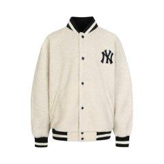 MLB 19FW新款  韩国直邮 男女同款 NY 毛绒布 运动棒球夹克/外套 31JPF1941图片