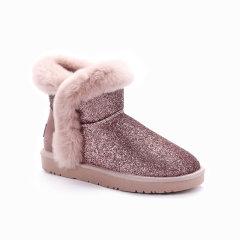 【19秋冬】Ozwear ugg/Ozwear ugg  女士雪地靴 499  秋冬新款 毛茸茸闪光雪地靴图片