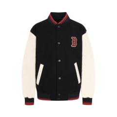 MLB 特价 韩国直邮 男女同款 LA 人造皮革袖子 运动 棒球 夹克/外套 31JP02941图片