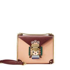 Emini House/伊米妮女士包牛皮单肩包手提斜挎印第安风时尚灵动小巧盒子包趣味包图片