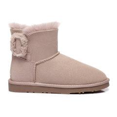 2019新款EVER UGG/EVER UGG雪地靴短筒靴子冬季百搭防水短靴311031图片