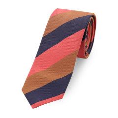PRADA/普拉达 桑蚕丝 条纹 男士领带图片