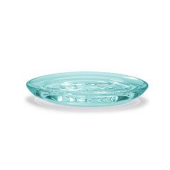 umbra DROPLET 小水滴卫浴系列洗漱套装牙刷架漱口杯肥皂盘亚克力材质 海浪蓝色图片