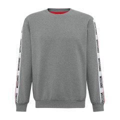 MOSCHINO/莫斯奇诺男士纯色简约舒适保暖袖边字母款卫衣 A 1715 8101 0506图片