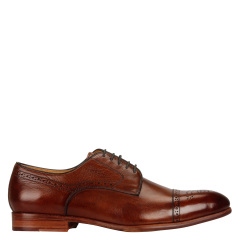 Quarvif/Quarvif 男士牛皮商务正装鞋 QMG61110图片