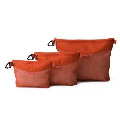 pack all杂物收纳袋旅行男女内衣收纳整理袋办公家居手机防水拉链袋资料袋文具袋经典四色图片