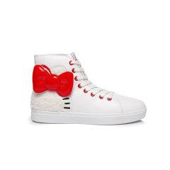 【2019秋冬新品】EVER UGG 女士休闲运动鞋 HELLO KITTY联名 高帮板鞋 826013图片