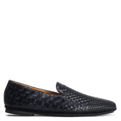 Quarvif/Quarvif  男士手工编织皮鞋 男士商务休闲鞋  QMG71505图片