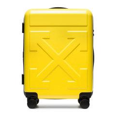 OFF WHITE/OFF WHITE 20春夏  流行款 男女通用纯色聚碳酸酯经典箭头图案时尚拉杆箱旅行箱行李箱图片