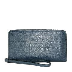 COACH/蔻驰 女士皮革标志印花钱包手拿包拉链包女包 F75908多色可选图片
