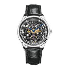 AGELOCER/艾戈勒 手表 博世系列 男表 机械表全自动 手表男 镂空雕花80小时超长动能图片