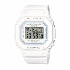 CASIO/卡西欧手表女BABY-G时尚纯白液晶显示电子防水运动女表 BGD-560图片