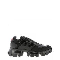 PRADA/普拉达 19年秋冬 时尚 男性 黑/红色 休闲运动鞋 2EG293#3KZU#F0TVY图片