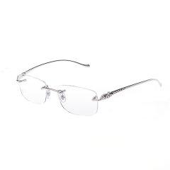 【猎豹款】CARTIER/卡地亚经典豹子系列惟妙惟肖灵动商务休闲男女款镜框光学镜架眼镜CT0061O图片