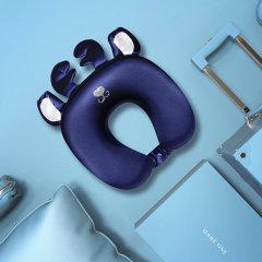品牌:DARE ONE/DARE ONE,分类:女睡衣/家居服真丝u型枕记忆棉单人枕头护颈椎枕飞机枕猫咪麋鹿午睡枕图片