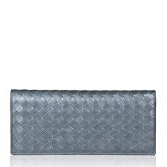 Bottega Veneta 宝缇嘉 中性羊皮商务长款钱包钱夹图片