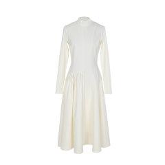 MAGYANN/MAGYANN2019秋冬时装周设计师原创针织多片分割女士连衣裙图片