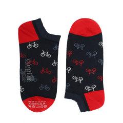 CORGI【秋冬新品】男士棉袜时尚短袜子休闲运动吸湿排汗浅口袜船袜图片