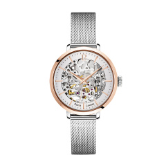 Pierre Lannier/连尼亚 法国进口PL女表 镂空女士机械表 潮流时尚手表钢带图片