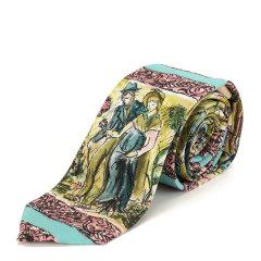 BURBERRY/博柏利 男士人物印花时尚领带 8000470