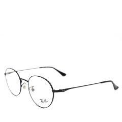【20年新品张艺兴朱亚文明星款】Ray-Ban/雷朋先锋艺术时尚圆形系列经典字母标摩登商务旅行版光学眼镜RB6369D(适合亚洲人士脸型)(舒适鼻托)图片