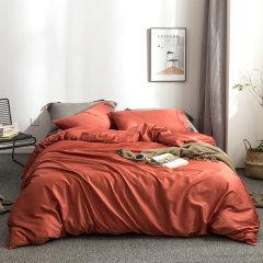 全棉贡缎60支纱 面料柔软细腻 环保纯色简约不掉色 四件套被套床单4件套-纯时代 ROYALROSE LITERIE图片