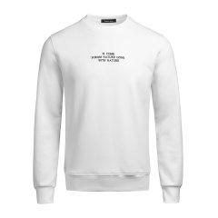 【19秋冬】Ferrero Ross/费列罗斯 时尚休闲刺绣套头圆领男卫衣 长袖T恤LK9811图片
