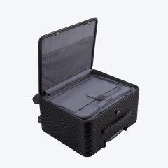 【预售】TUPLUS/途加 OSLO系列 全铝镁合金拉杆箱轮行李箱 铝框16寸旅行箱 静音万向轮商务登机箱  曜石黑 适用人群:中年,女士,男士图片