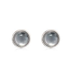 A&C/A&C Eclipse S日食系列圆形基础耳钉图片