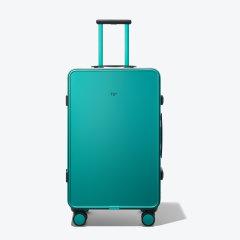 【预售】TUPLUS/途加 19新品 CORE系列全铝镁合金行李箱 金属25寸大拉杆箱 星云绿色 适用人群:青少年,中年,女士,男士图片