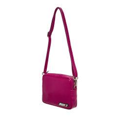 【MSGM】19年新品 女士 牛皮 斜挎包 单肩包 深红/白色 BOX CROSS BAG图片