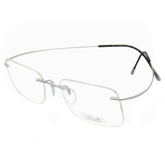 Silhouette/诗乐 女士光学镜架  7610 54mm 7611 51mm 无框钛架轻近视眼镜框眼镜架图片