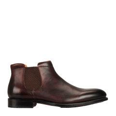 【19秋冬鞋】QUARVIF/QUARVIF 切尔西靴 英伦 黑色 短靴  QMG65520图片