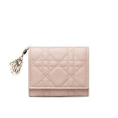 【满4000返1000】【包邮包税】DIOR/迪奥 经典款女士 Lady Dior迷你小羊皮钱包(2色可选) S0181ONMJ_M900图片