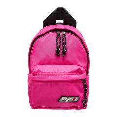 【MSGM】19年新品 女士 徽标迷你背包 黑/粉色 MINI BACK PACK图片