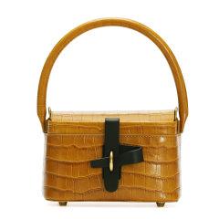 【Designer Bags】BEN by SONG/BEN by SONG设计师原创小号鳄鱼纹压花牛皮复古篮子包时尚小众女士斜挎包手提包图片