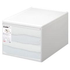 日本进口抽屉式收纳盒 组合收纳柜 内衣收纳箱 衣物整理箱  利快likeit宿舍简易衣柜 储物箱图片