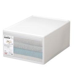 日本进口叠加组合整理箱     利快likeit抽屉收纳柜  衣物收纳箱防潮密封收纳盒图片