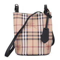 BURBERRY/博柏利  女包 经典格纹 单肩包水桶包 三色可选图片
