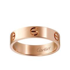 【包税】CARTIER/卡地亚 经典LOVE 18K金玫瑰金戒指 B4084800图片