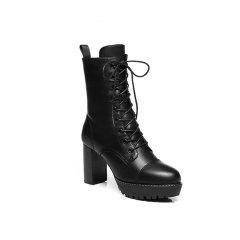 【澳洲直邮】Everugg 女士秋冬保暖雪地靴牛皮马丁靴  21557图片