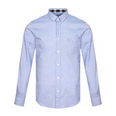 【19春夏】BURBERRY/博柏利 男士长袖衬衫 纯棉翻领男士长袖衬衫图片