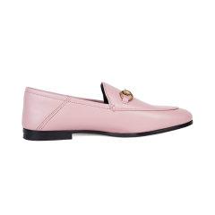 【20春夏新款 】GUCCI/古驰  女士羊皮马衔扣乐福鞋英伦女鞋 跟高1CM DX图片